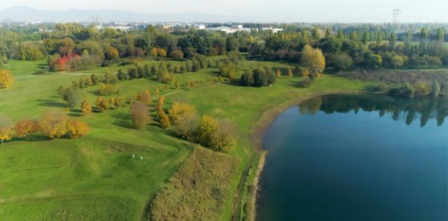 monza brianza park lake